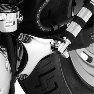 パッセンジャー フットペグマウントキット ブラック ◆ハーレー◆|amberpiece|02
