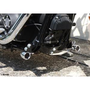 【H1014】 フレームマウント ウインカーステー ◆ハーレー◆ amberpiece