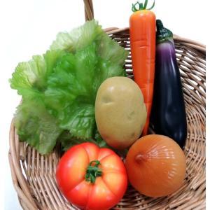 100ミリ フレッシュポテト 4個入り(食品サンプル・フェイク・野菜・ジャガイモ)|ambix|06