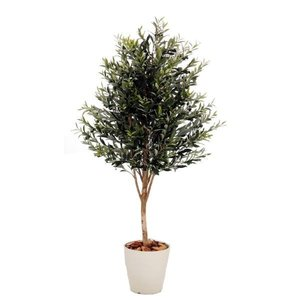 オリーブA (人工植物 インテリア 造花 フェイクグリーン 1.5 150cm)