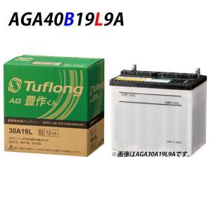 日本製 国産 40B19L 日立化成 日立 新神戸電機 農機 バッテリー AH40B19L 9 旧品番 AG40B19L Tuflong AG 豊作くん トラクター 耕うん機|amcom