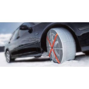 オートソック HP-697 ハイパフォーマンス AutoSock タイヤに履かせる靴下 タイヤチェーン 滑り止め 防寒 HP697|amcom