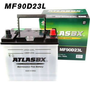 アトラス バッテリー 90D23L 自動車 ATLAS 2年保証 送料無料|amcom