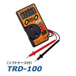 デンゲン デジタル カードテスター 内部抵抗32MΩ TRD-100|amcom