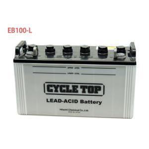 日立 新神戸電機 EB100 L端子 ボルトナット 100Ah/5時間率容量 日立化成 日本製 国産 ディープサイクル バッテリー 蓄電池 非常用電源 太陽光 ソーラー発電 用|amcom