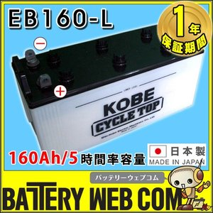 EB160 L端子 ボルトナット HITACHIバッテリー 160Ah/5時間率容量 日立化成 日本製 国産 ディープサイクル エレベータ 蓄電池 非常用電源 太陽光 ソーラー 発電用 amcom