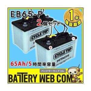 EB65 ポール端子 2個セット テーパー HITACHI バッテリー 65Ah/5時間率容量 日立化成 日本製 国産 ディープサイクル エレベータ 蓄電池 太陽光 ソーラー 発電 用|amcom