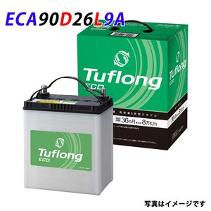 日立化成 バッテリー JE 90D26L 日立 新神戸電機 発電制御 タフロングエコ 車バッテリー 日本製 3年保証 Tuflong ECO 国産 エコカー 充電制御|amcom