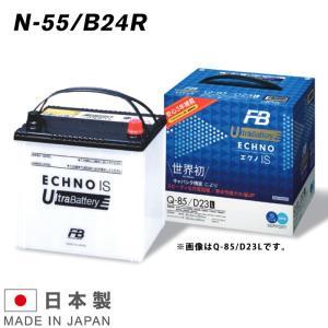 N-55R / B24R 古河バッテリー ECHNO IS UltraBattery エクノISウルトラバッテリー 乗用車用 amcom