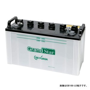 EB100-LER L型端子 外向き GS ユアサ YUASA EB ディープサイクル バッテリー 蓄電池 非常用電源 太陽光発電 ソーラー発電 EB100|amcom