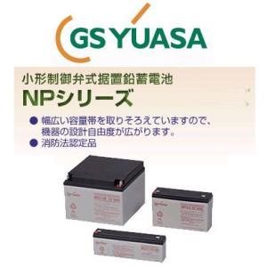 NP3-6 GS ユアサ YUASA 小形制御弁式鉛蓄電池 産業 用 バッテリー NP6V エレベータ ジーエスユアサ GSYUASA|amcom