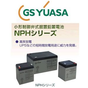 NPH12-12 GS ユアサ YUASA 小形制御弁式鉛蓄電池 産業 用 バッテリー NPH エレベータ ジーエスユアサ GSYUASA|amcom