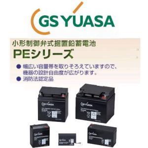 PE12 GS ユアサ YUASA 小形制御弁式鉛蓄電池 産業用バッテリー PE12V12 12V UPS 無停電電源 CATV 防災 防犯システム機器 非常 灯 エレベータ ジーエスユアサ|amcom