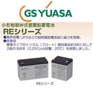 RE7-6 GS ユアサ YUASA 小形制御弁式鉛蓄電池 産業 用 バッテリー RE エレベータ ジーエスユアサ GSYUASA|amcom