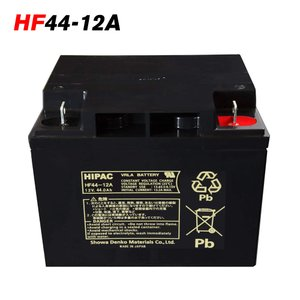 日本製 HF44-12A 日立 新神戸 JIS規格 小型制御弁式鉛蓄電池 バッテリースタンバイユ−ス 高率放電タイプ 日立化成 HFシリーズ UPS 無停電電源 国産 エレベータ|amcom