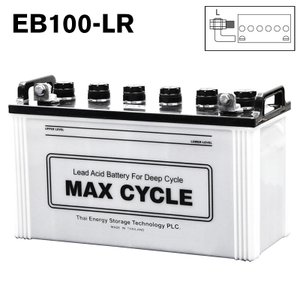 EB100-LR ボルトナット 端子 日立化成 ディープサイクル バッテリー 蓄電池 純正 送料無料 (一部地域送料加算)|amcom