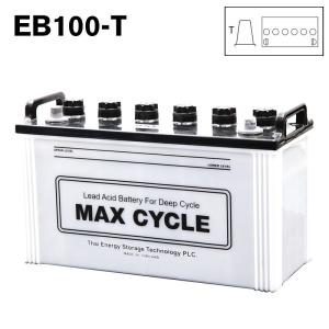 EB100-T ポール端子 日立化成 ディープサイクル バッテリー 蓄電池 純正 送料無料 (一部地域送料加算)|amcom