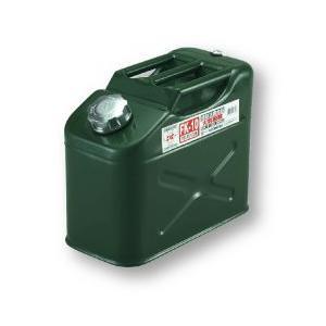 メルテック 大自工業 FK-10 ガソリン缶(縦型ジープ缶) 10リットル 消防法適合品 国内検査KHKマーク取得 FK10 amcom