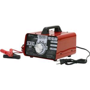 バッテリー充電器 SC650 大自工業 メルテック バッテリーチャージャー meltec SC650 / SC-650 カー用品 バッテリーチャージャー 12V|amcom