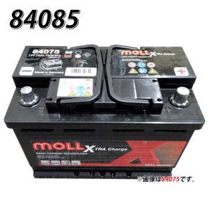 モルバッテリー MOLL 欧州車用バッテリー 830-85 モル 自動車バッテリー 2年保証 83085 車 自動車 欧州車 外車用|amcom