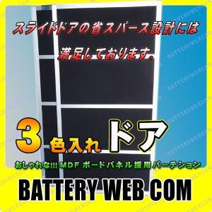 パーテーション ドア 黒色 サイズ:1760×900×40mm|amcom