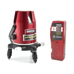 山真 ヤマシン 墨出し器 レーザーマスター プレミアム PM-6-W 本体+受光器+三脚セット 38921 ツールパワー YAMASHIN