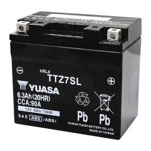 あすつく対応 TTZ7SL 台湾 ユアサ yuasa バイク 用 バッテリー オートバイ TTZ7SL GS ユアサ yuasa 互換 PL保険 amcom