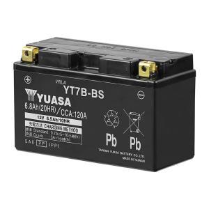 YT7B-BS 台湾 ユアサ バイク 用 バッテリー オートバイ yuasa GT7B-4 RBT7B-4 FT7B-4 GS ユアサ 互換 PL保険 付き 制御弁式 傾斜搭載不可 横置き不可