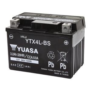 YTX4L-BS 台湾 ユアサ yuasa バイク 用 バッ...