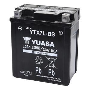 YTX7L-BS 台湾 ユアサ yuasa バイク 用 バッテリー オートバイ YTX7L-BS GS ユアサ yuasa 互換 PL保険 傾斜搭載不可 横置き不可|amcom