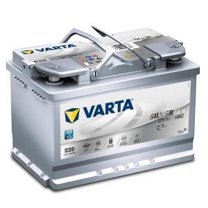 バルタバッテリー VARTA バルタ 570-901-076 シルバーダイナミック 570901076 欧州車用 SILVER DYNAMIC 充電制御車 アイドリングストップ車対応 AGMバッテリー|amcom
