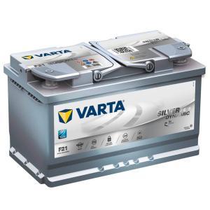 バルタバッテリー VARTA バルタ 580-901-080 シルバーダイナミック 580901080 欧州車用 SILVER DYNAMIC 充電制御車 アイドリングストップ車対応 AGMバッテリー|amcom