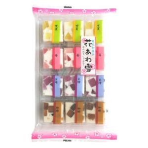 津山屋 花あわ雪 12個×1袋【津山屋製菓】メレンゲムース&寒天ゼリーの和菓子|amechan