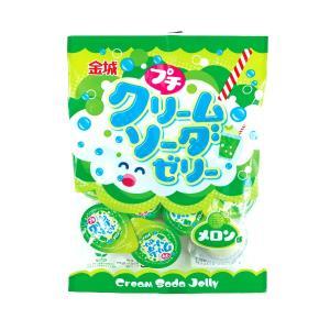 ミニゼリー プチクリームソーダゼリー メロン味 16g×9個【金城製菓】|amechan