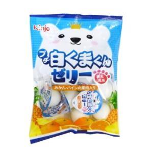 ミニゼリー プチ白くまくんゼリー 練乳風味 16g×9個入り 金城製菓|amechan