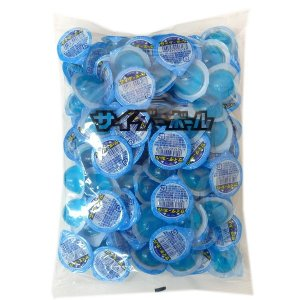 【駄菓子】サイダーボールゼリー 100個入×1袋 カップゼリー 駄菓子【江口製菓】|amechan