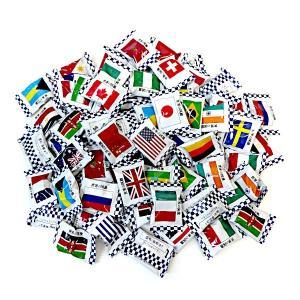 お徳用 1キロ 世界の国旗 キャンディ 1kg×10袋 キッコー製菓 イベント・催事に|amechan