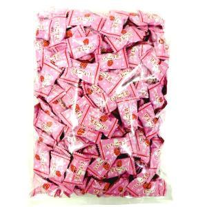 1キロ入 いちご牛乳 キャンデー×5袋【マルエ製菓】限定生産品 卸販売|amechan