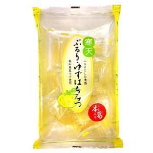 津山屋 ぷるり・ゆずはちみつ  185g×12袋 寒天ゼリー amechan