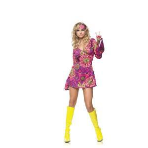 ヒッピー ガール 衣装 、コスチューム (女性用)|amecos