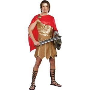 カエサル ローマ 剣士 衣装、コスチューム 大人男性用 amecos