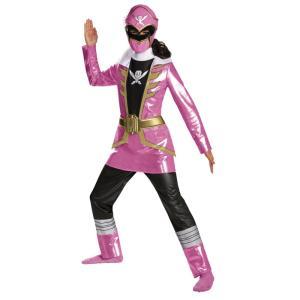 海賊戦隊ゴーカイジャー ピンク 衣装、コスチューム DELUXE  子供女性用 |amecos