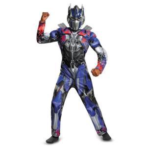 トランスフォーマー 衣装、コスチューム 子供男性用 Optimus Prime Muscle amecos