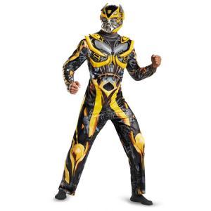 バンブルビー 衣装、コスチューム 大人男性用 トランスフォーマー デラックス amecos