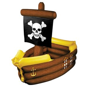 海賊船 ドリンククーラー バルーン PIRATE SHIP COOLER INFLATABLE|amecos
