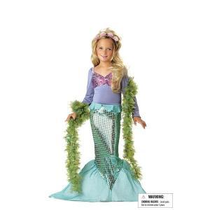 LITTLE MERMAID 人魚姫 ドレス お姫様 衣装 、コスチューム 子供用|amecos