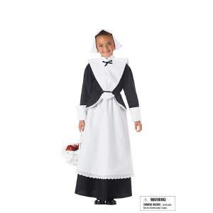 PILGRIM GIRL ヨーロッパの歴史 衣装 、コスチューム 子供用|amecos