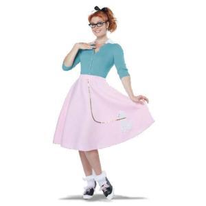 プードル スカート 衣装、コスチューム 大人女性用 レトロ amecos