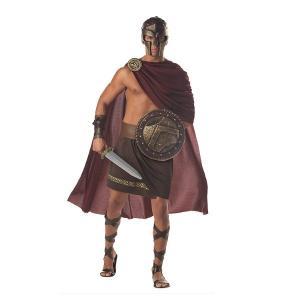 SPARTAN WARRIOR 戦士 古代ギリシャ 衣装 、コスチューム 男性用 amecos