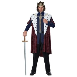 王様 衣装、コスチューム 大人男性用 キング 中世ヨーロッパ ROYAL STORYBOOK  KING/ADULT|amecos
